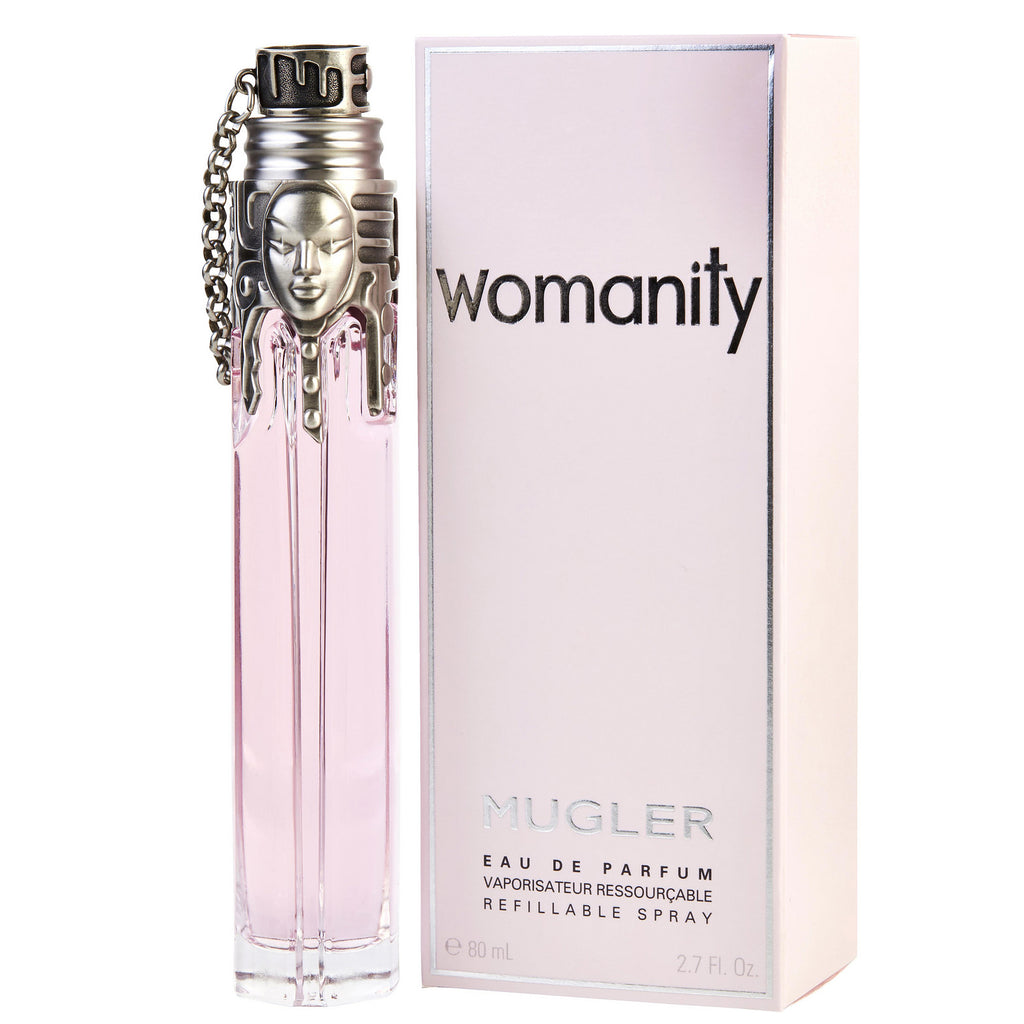 Womanity Perfume Refill: Womanity By Thierry Mugler 80ml EDP (Refillable)