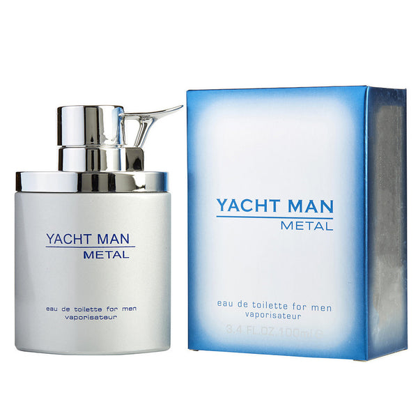 Yacht Man Metal by Myrurgia 100ml EDT