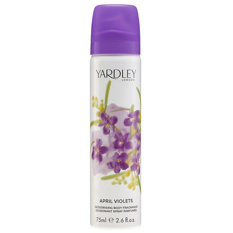 April Violets by Yardley 75ml Deodorant Spray