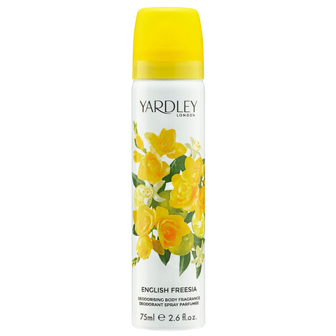 English Freesia by Yardley 75ml Deodorant Spray