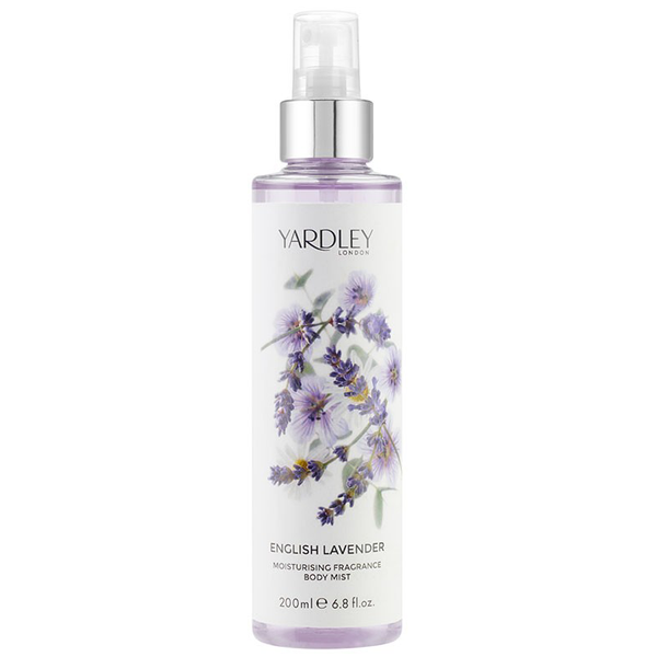 English Lavender by Yardley 200ml Fragrance Body Mist