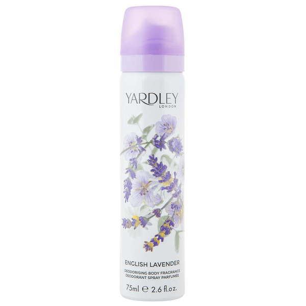 English Lavender by Yardley 75ml Deodorant Spray