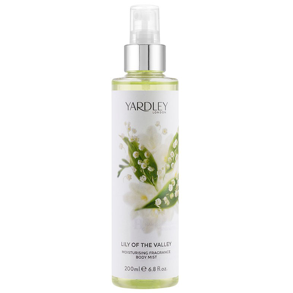 Lily of the Valley by Yardley 200ml Fragrance Body Mist