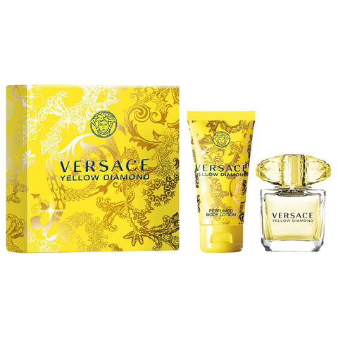 Yellow Diamond by Versace 90ml EDT 2 Piece Gift Set