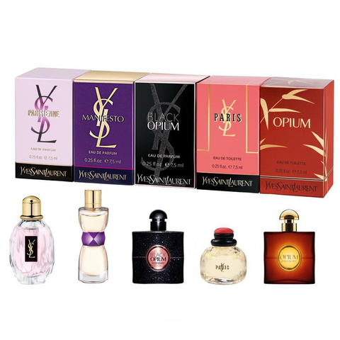 YSL Perfume Collection 5 Piece Gift Set for Women