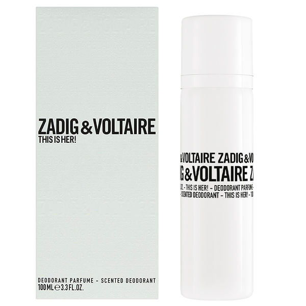 This Is Her! by Zadig & Voltaire 100ml Perfumed Deodorant