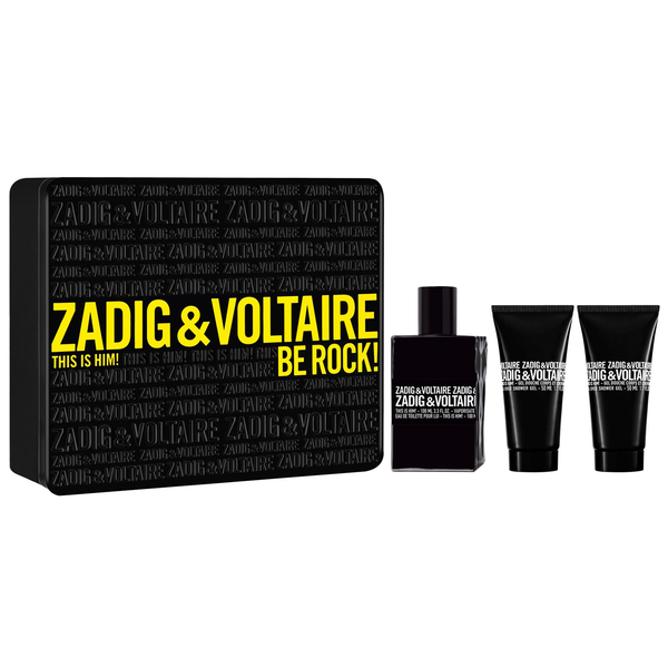 This Is Him! by Zadig & Voltaire 100ml EDT 3 Piece Gift Set