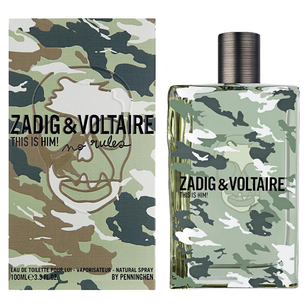 This Is Him! No Rules by Zadig & Voltaire 100ml EDT
