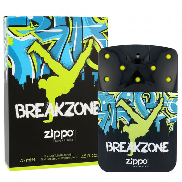 Breakzone by Zippo 75ml EDT for Men