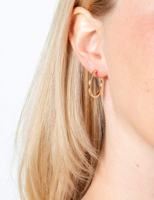 Aubrey Grace Boutique Gold Filled Hoops