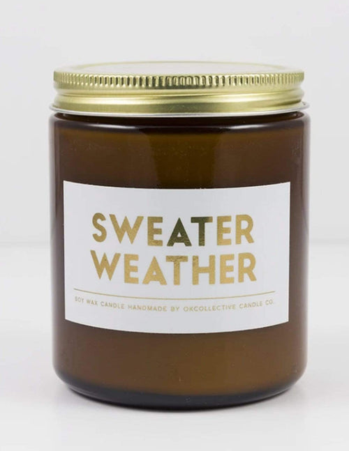 Aubrey Grace Boutique Sweater Weather Soy Candle