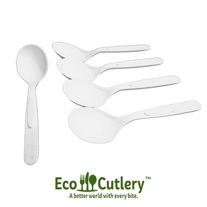 EcoCutlery™ - Soup Spoons - 840 Case