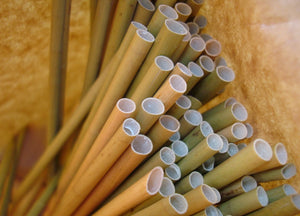 Eco Long Sedge Grass Straws