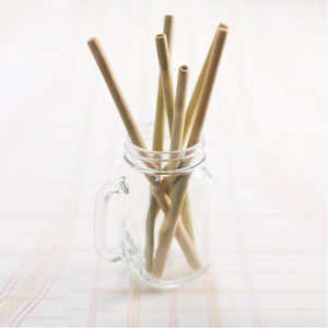 Eco Shaven Bamboo Straws