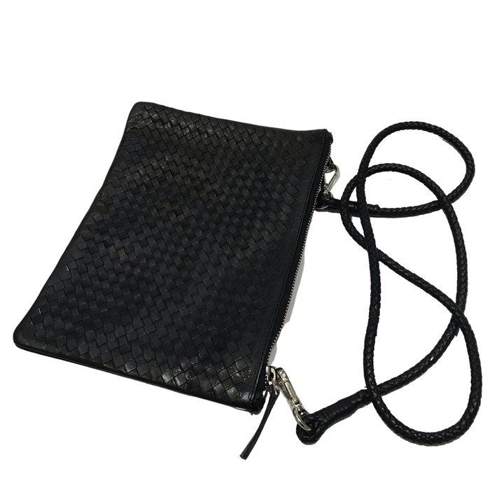 CHRISTINE | Black Single Pouch Bag
