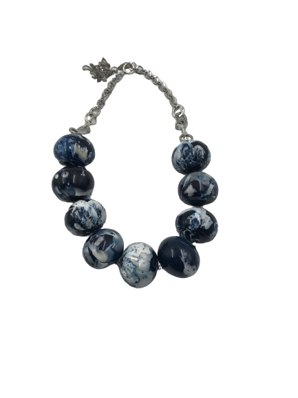 PELLINI | MARBLED RESIN Necklace