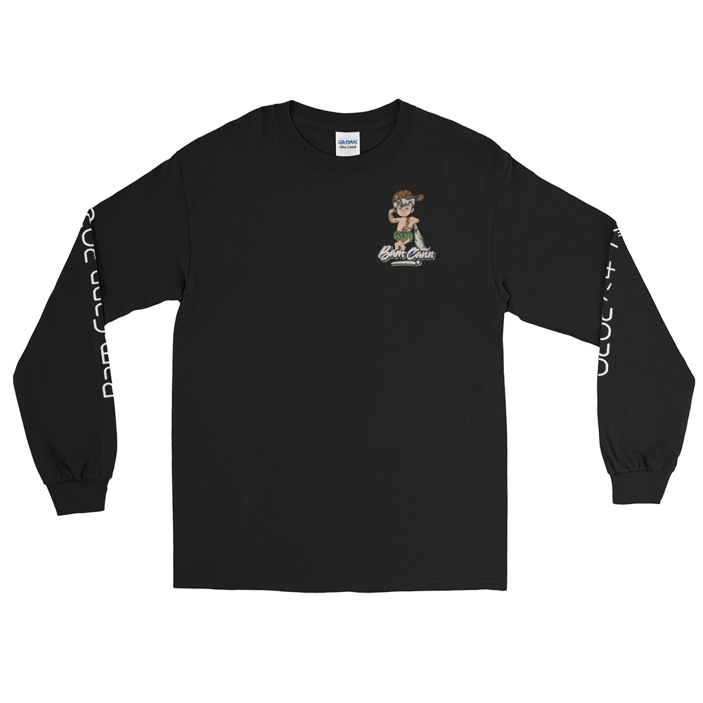 Men's Black Long Sleeve Shirt