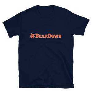 #BearDown Navy T-Shirt