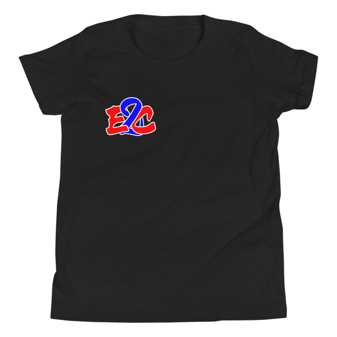 E2C Youth Black T-Shirt