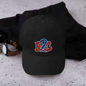 E2C Black Dad hat