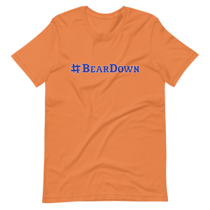 #BearDown Orange T-Shirt