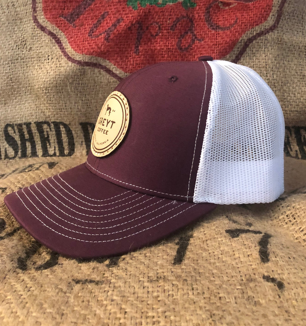 Greyt Coffee Snapback Hat