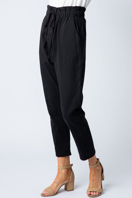 black cinch trouser