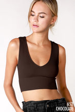 Load image into Gallery viewer, ribbed knit crop top (3 colors)