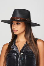 Load image into Gallery viewer, black western hat