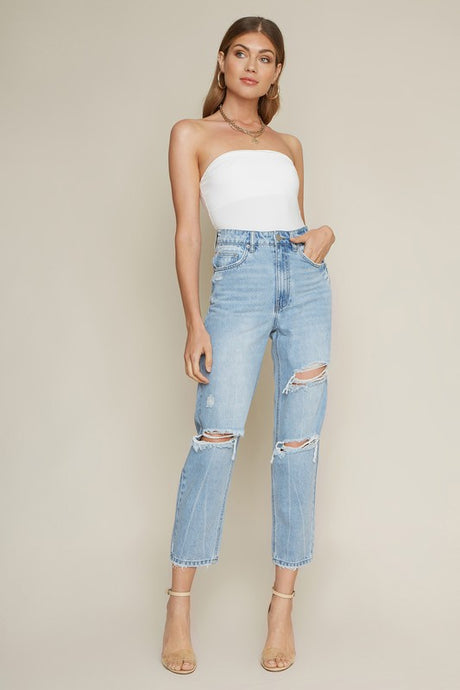 marcel distressed denim