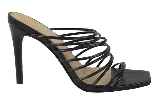 SALE Strappy Stiletto Heels