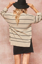 Load image into Gallery viewer, oat striped sweater