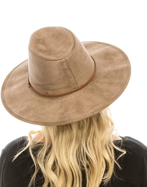 felt panama hat (4 colors)