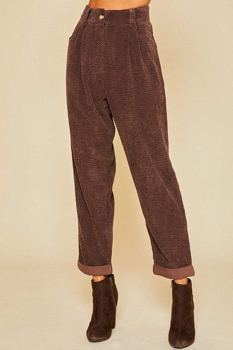 brown cord pants