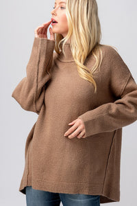 double layered sweater (2 colors)