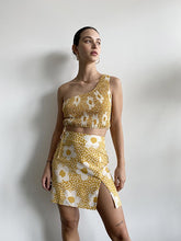 Load image into Gallery viewer, yellow floral skirt