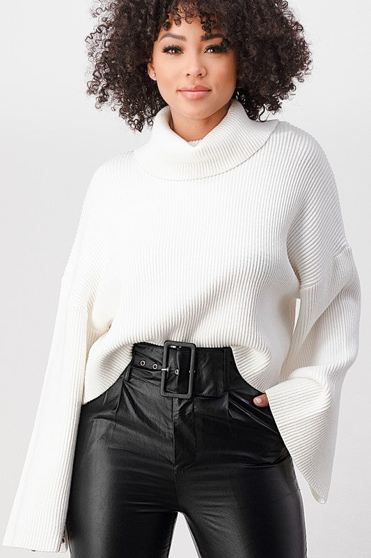 BEST SELLER louise cropped sweater (2 colors)