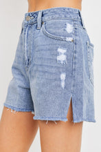 Load image into Gallery viewer, the mom denim shorts (2 colors)