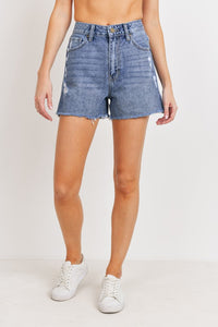 the mom denim shorts (2 colors)