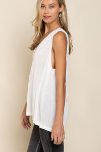 Deep V-Neck Tank (2 colors)