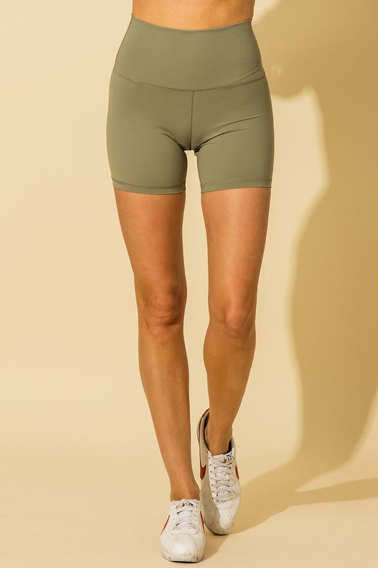 Basic Ribbed Bike Shorts (9 colors)
