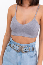 Load image into Gallery viewer, knit bralette (2 colors)