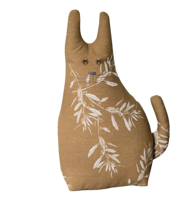 olive cat door stopper