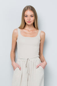 square neck tank (3 colors)
