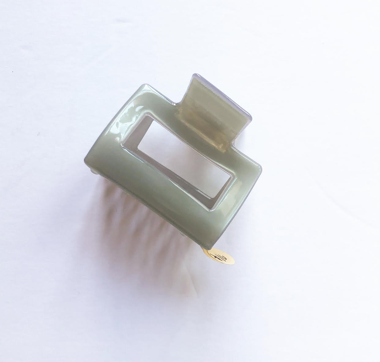 Small Square Hair Claw (3 colors)