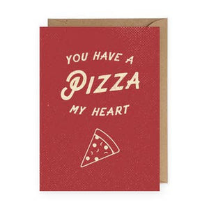 you have a pizza my heart card