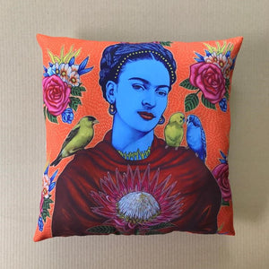 Scatter Cushion Cover Large Frida With Birds