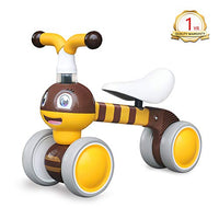 YGJT Baby Balance Bikes Bicycle Kids Toys Riding Toy for 1 Year Boys Girls 10-36 Months Baby's First Bike First Birthday Gift