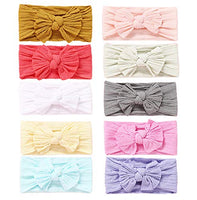 Baby Girl Nylon Headbands Newborn Infant Toddler Hairbands and Bows Child Hair Accessories