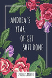 ANDREA'S Year Of Get Shit Done - 2020 Planner: Name Personalized Weekly & Monthly Planner for Women + Calendar View - Dec 2019 to Jan 2021 - ... Appointment Calendar, Office Gift.